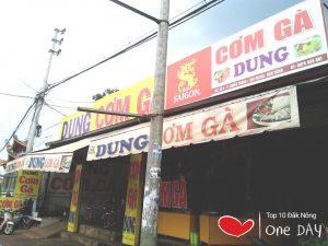 Quán cơm gà ngon chất lượng giá rẻ nhất Đắk Nông
