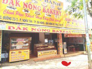 Tiệm bánh kem ĐẮk Nông Bakery tại gia nghĩa
