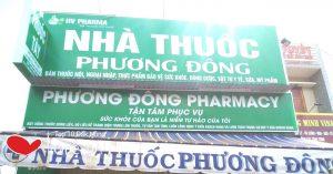 nhà thuốc phương đông ngã 3 sùng đức chuyên nghiệp