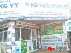 nhà thuốc Phương Vy có vị trí đắc địa để bán thuốc