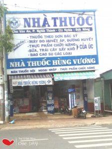 nhà thuốc tây Hùng Vương chuyên bán các loại thuốc chất lượng