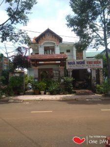 Nhà nghỉ yên tĩnh giá rẻ tại Gia Nghĩa Thu Hiền DAKNONG