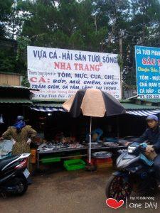 Vựa hải sản tươi sống Nha Trang TT tại Gia Nghĩa