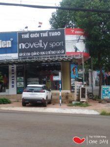 Shop đồ thể thao Novelty Sports tại gia nghĩa daknong