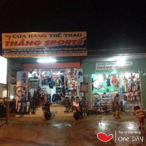 Shop đồ thể thao Thắng Sports tại huyện Đắk Mil tỉnh ĐẮk Nông