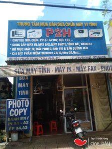 Cửa hàng photocopy P2H giá re tai gia nghia