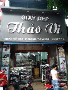 cửa hàng giày dép thời trang tại gia nghĩa Đắk Nông