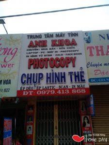 Tiệm photocopy Anh Khoa tại gia nghĩa đắk nông